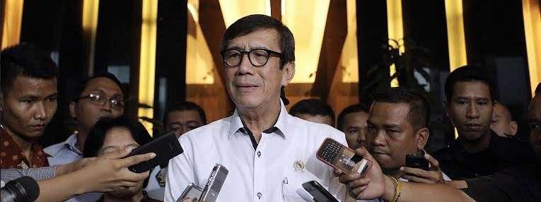 Menteri Hukum dan HAM Yasonna Laoly. FOTO: Ricardo/jpnn