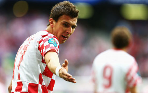 Mario Mandzukic. Foto: AFP