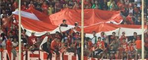 DEMI sepakbola Indonesia. Suporter Timnas. Foto: dok.JPNN