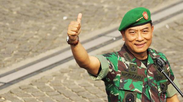 Panglima TNI Jenderal Moeldoko