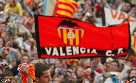 Suporter Valencia. Foto: AP/getty images