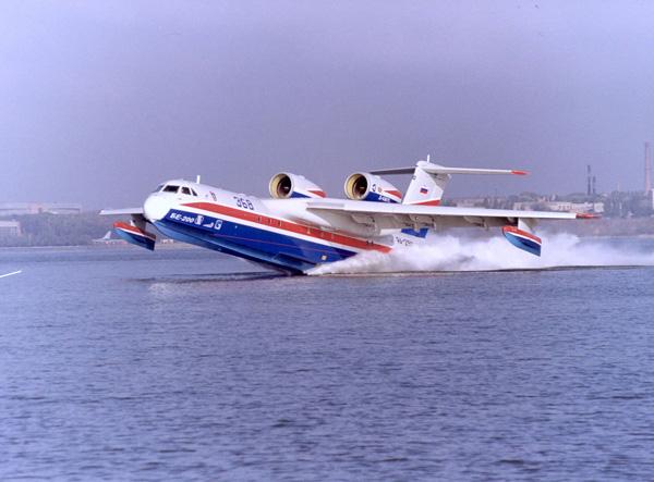 Jet amfibi buatan Rusia, Beriev BE 200