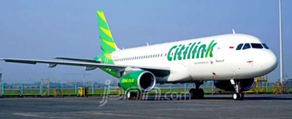 Pesawat Citilink. Foto: Dokumen JPNN.com
