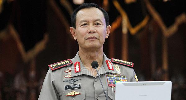 Kapolri Jenderal Sutarman