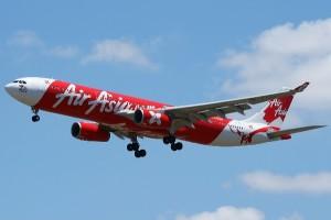 Pesawat AirAsia. Foto: Int