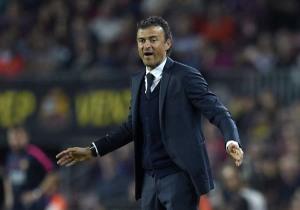 Pelatih Barcelona, Luis Enrique. Foto: AFP Photo