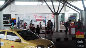 Suasana di Bandara Soekarno Hatta