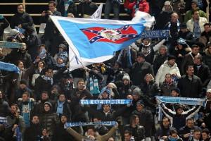 Fans Napoli.