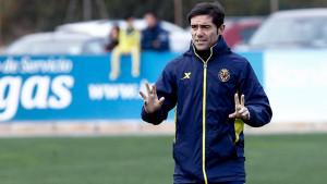 Pelatih Villarreal Marcelino.