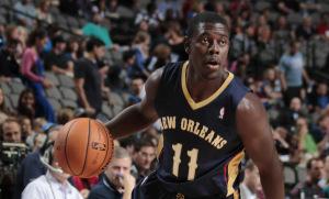 Bintang New Orleans Pelicans, Jrue Holiday.