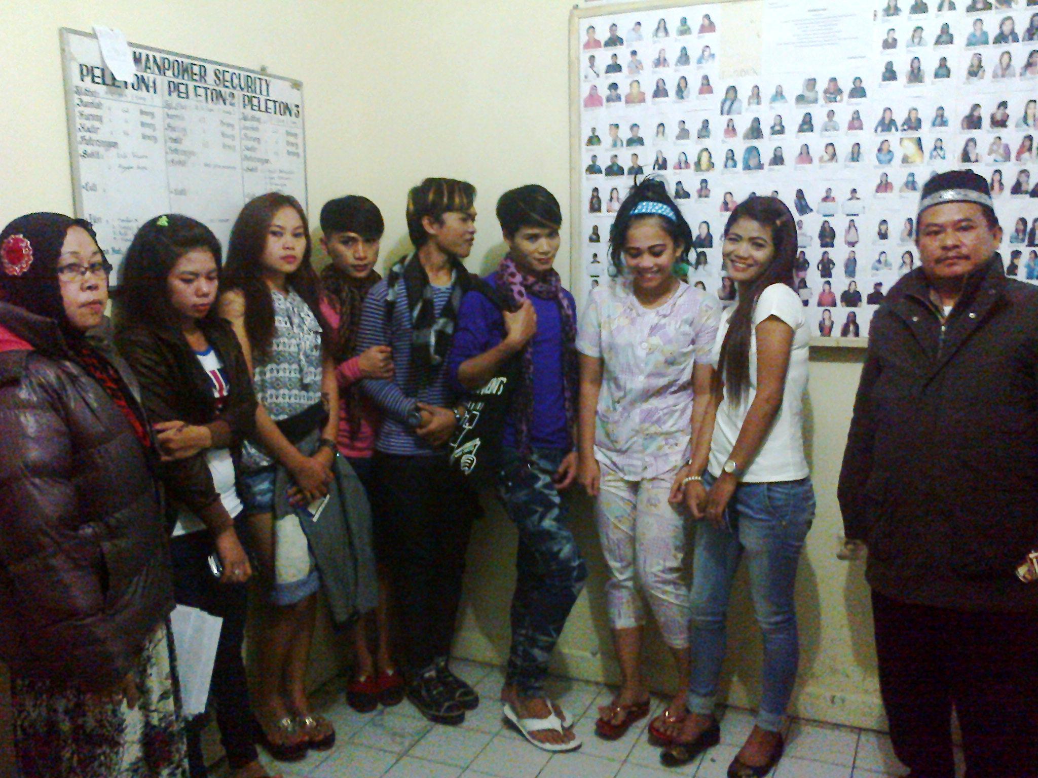 Security Kota Bunga merazia belasan wanita beberapa waktu lalu. Foto Farhan/Radar Cianjur/pojoksatu.id