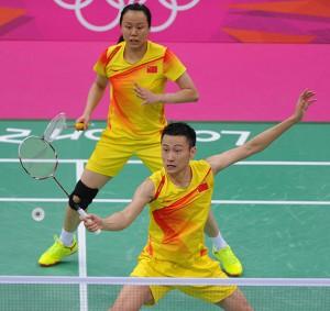 """Zhang Nan (depan) dn Zhao Yunlei. Foto"""" istimewa"""