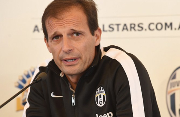 Pelatih Juventus, Juventus Massimiliano Allegri. Foto: Istimewa