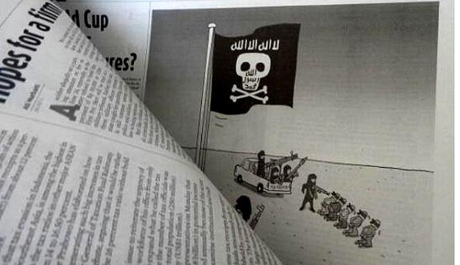Karikatur ini yang bikin Pemred The Jakarta Pos tersangka