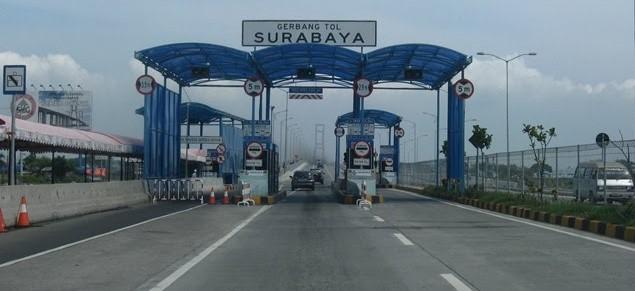 Pintu Tol Surabaya