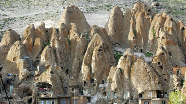Desa Kandovan, Iran