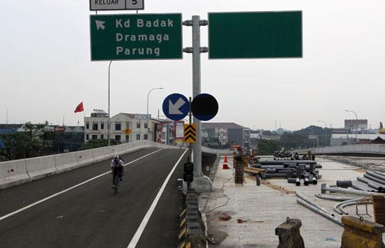 Jalan tol Bogor Ring Road (BORR) seksi 2