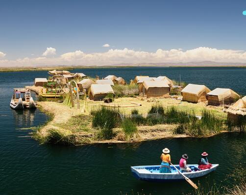 Danau Titicaca (Peru)