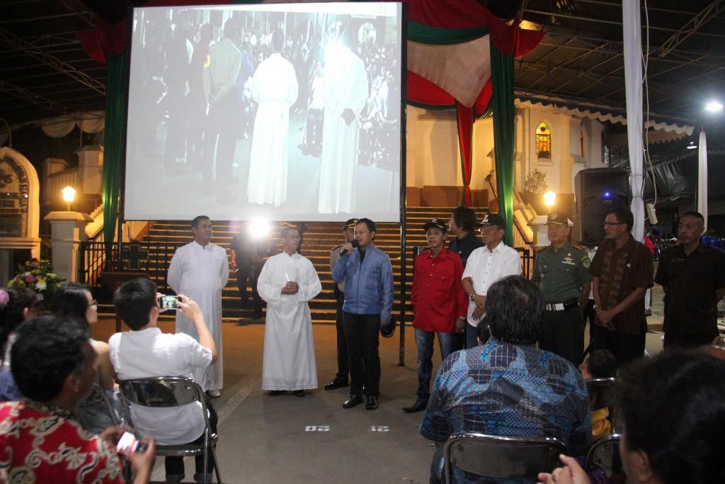 Bima Arya bersama pendeta di Bogor. Foto Sofyansyah/Pojoksatu.com