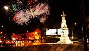 Lokasi perayaan tahun baru di Yogyakarta