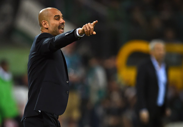 Pep Guardiola (Foto: Patrik Stollarz/AFP)