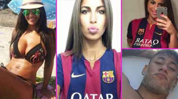 Ini pengacara cantik yang terpikat oleh pesona Neymar
