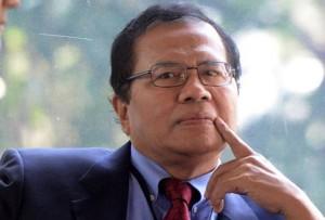 Mantan Menteri Koordinator bidang Perekonomian era Presiden Abdurrahman Wahid, Rizal Ramli
