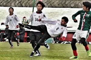 Stefano Lilipaly saat masih memperkuat Consadole Saporro (J League). Foto: Stefano for JPNN.com
