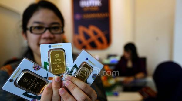 harga emas naik, investasi jangka panjang, toko emas