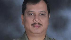 Ketua Umum Himpunan Pengusaha dan Wiraswasta (HIPWI) FKPPI Hariara Tambunan.