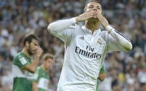 Cristiano Ronaldo. Foto: Daily Telegraph