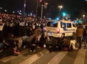 Puluhan warga tewas saat merayakan tahun baru di Shanghai