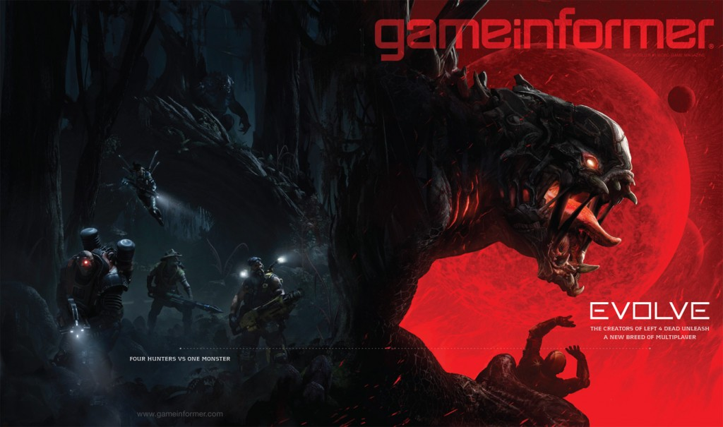 5-Evolve (PC,PS4, Xbox One)