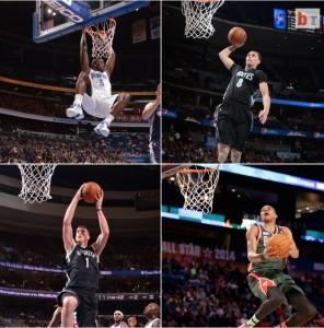 Empat bintang NBA beraksi