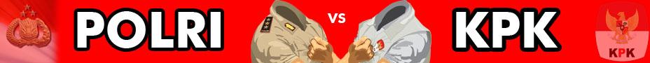 BANER-kpk vs polri
