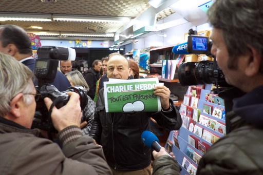 FRANCE-ATTACKS-CHARLIE-HEBDO-MAGAZINE-NEWSAGENTS