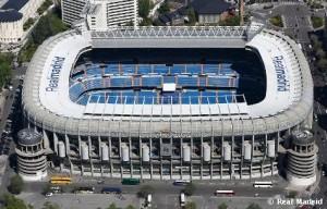 Stadion Santiago Bernabeu. foto:realmadrid.com