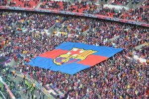 Fans Barcelona.