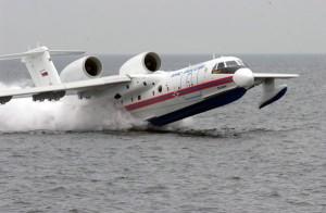 Jet Amfibi Beriev BE-200 milik Rusia