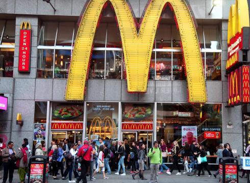 McDonald di Amerika. | Foto: UsaToday