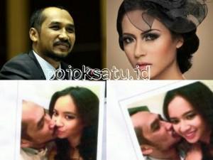 foto mesra yang mirip ketua KPK dan Puteri Indonesia. Foto: dok. Pojoksatu