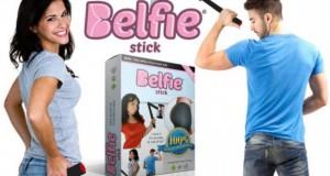 – Mungkin Anda belum familiar ketika mendengar kata 'Belfie'. Belfie adalah kombinasi dari kata Butt (bokong) dan Selfie. Belfie menjadi istilah di tahun 2014 semenjak banyaknya artis Hollywood yang rajin posting foto-foto bokong seksi mereka, mulai dari Nicki Minaj, Miley Cyrus sampai Rihanna. Belfie telah menjadi hits dan banyak orang yang ingin posting foto-foto bokong agar bisa menjadi tren. Mengambil konsep tongkat narsis, Belfie Stick didesain agar Anda bisa memotret bokong Anda dengan sebuah tongkat yang mirip dengan tongsis. Menurut informasi yang dilansir Phone Arena, Belfie Stick bisa dibengkokkan dan diukur sesuai dengan sudut yang tepat agar Anda bisa mengambil angle yang cocok ketika memotret bokong. Belfie Stick dibanderol US$ 79,99 atau sekitar Rp1 jutaan. Saking populernya trend Belfie , produk ini telah kehabisan stok dan dipastikan akan diproduksi kembali dalam waktu dekat. Belfie Stick memang sengaja dibuat oleh para selfie expert yang dimana mereka mempunyai kesulitan meletakkan tongsis ketika memotret bokong mereka. Nama Belfie sendiri konon diduga dipopulerkan oleh Kim Kardashian Menariknya, semua pengguna smartphone bisa menggunakan Belfie Stick ini. Karena, Belfie Stick juga dirancang untuk bisa bekerja dengan perangkat berbasis iOS, Android, bahkan Windows Phone. (de/els)