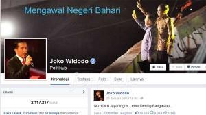Akun Facebook Jokowi