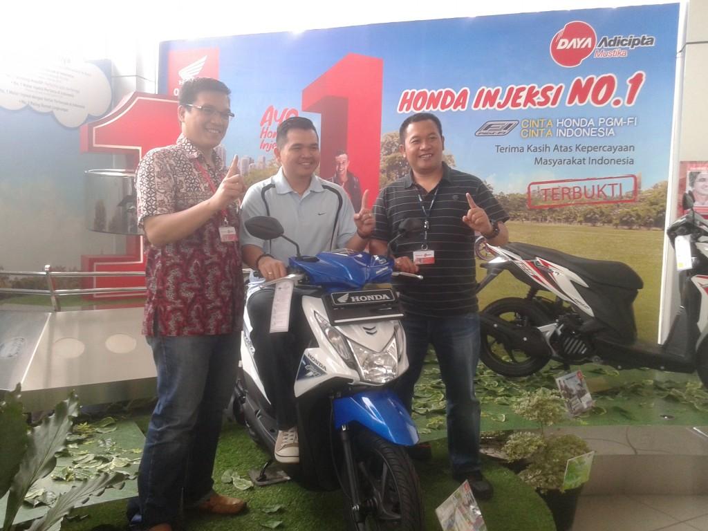 Honda motor kuasa pasar Jabar