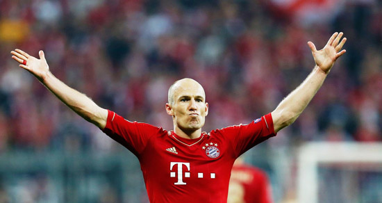 Arjen Robben - Bayer Munchen