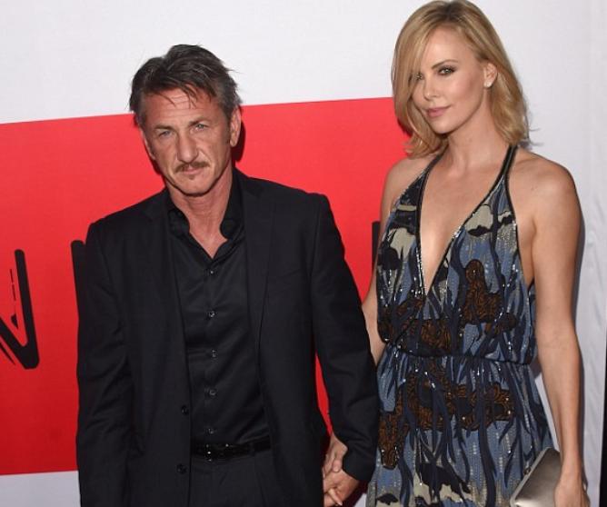 Charlize Theron dan Sean Penn 1