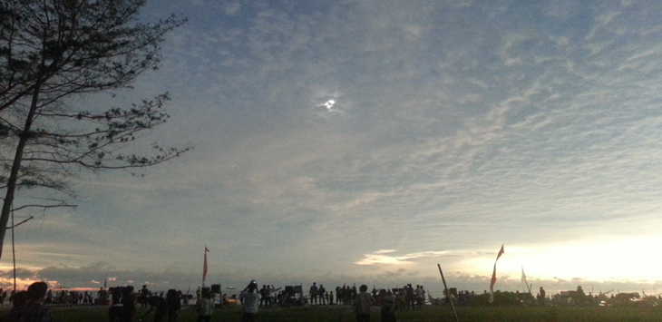 Gerhana matahari total di Belitung