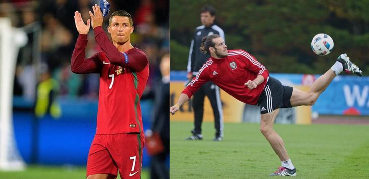 Cristiano Ronaldo dan Gareth Bale