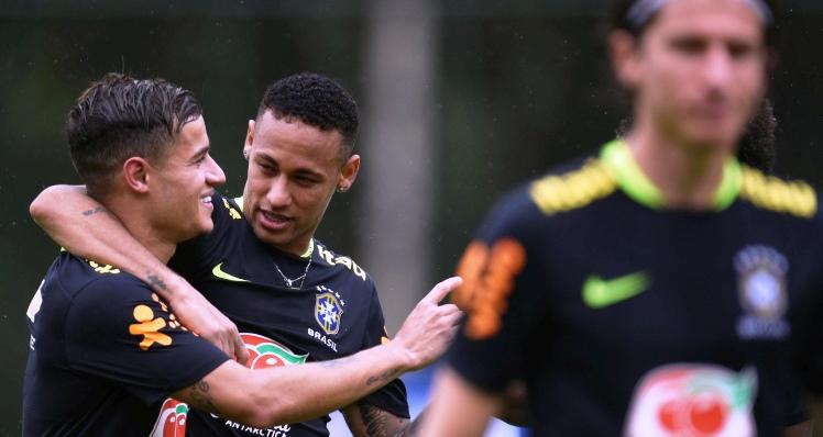 Neymar - Philippe Coutinho (metro.co.uk)