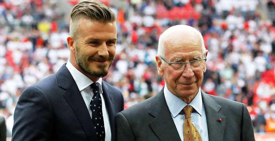 David Beckham - Sir Bobby Carlton (givemesports.com)